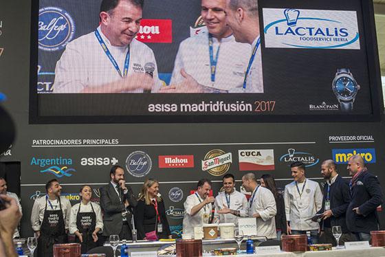 Concursos gastronómicos en Madridfusión